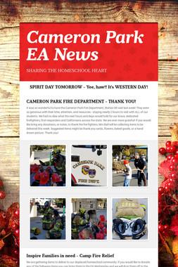 Cameron Park EA News