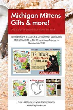 Michigan Mittens Gifts & more!