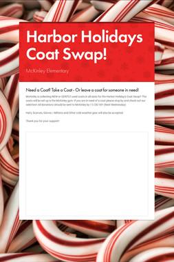 Harbor Holidays Coat Swap!