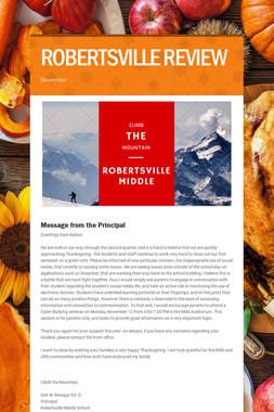 ROBERTSVILLE REVIEW