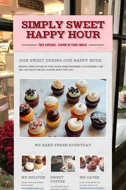 SIMPLY SWEET HAPPY HOUR