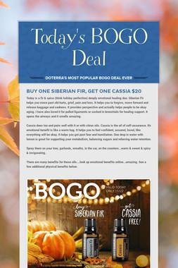 Today's BOGO Deal
