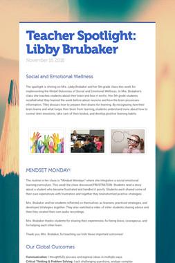 Teacher Spotlight: Libby Brubaker