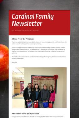 Cardinal Family Newsletter