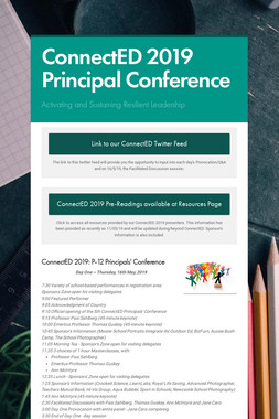 ConnectED 2019 Principal Conference
