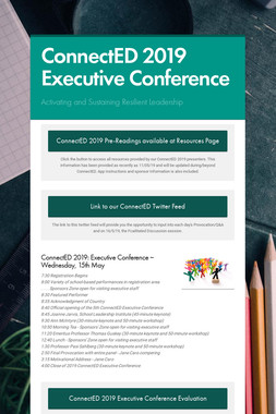 ConnectED 2019 Executive Conference