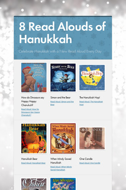 8 Read Alouds of Hanukkah