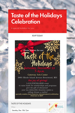 Taste of the Holidays Celebration