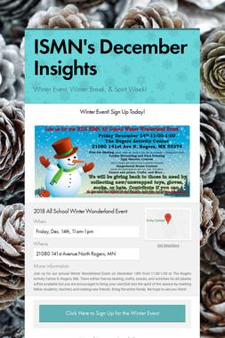 ISMN's December Insights