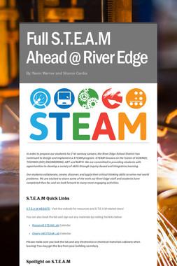 Full S.T.E.A.M Ahead @ River Edge