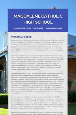 Magdalene Catholic High School