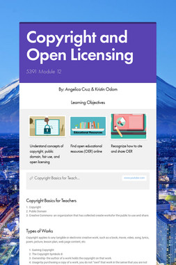 Copyright and Open Licensing