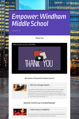 Empower: Windham Middle School