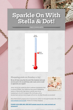 Sparkle On With Stella & Dot!