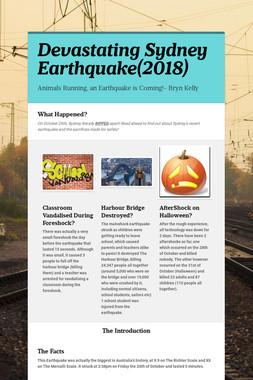 Devastating Sydney Earthquake(2018)
