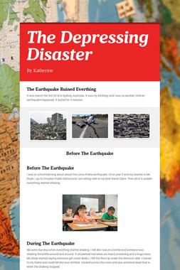 The Depressing Disaster