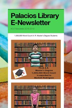 Palacios Library E-Newsletter