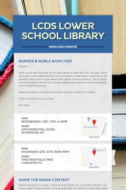 LCDS Lower School Library