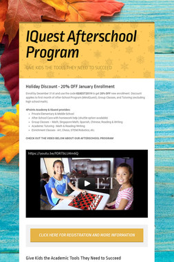 IQuest Afterschool Program