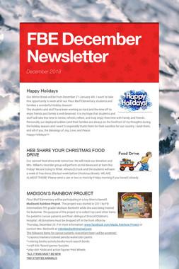 FBE December Newsletter