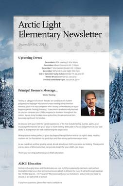 Arctic Light Elementary Newsletter