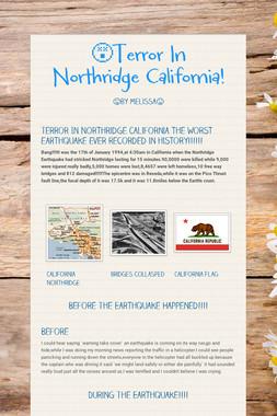 😵Terror In Northridge California!