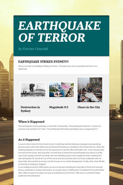 EARTHQUAKE OF TERROR