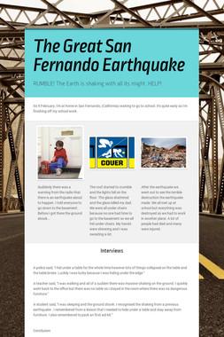 The Great San Fernando Earthquake