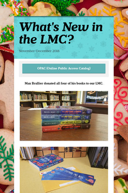 What's New in the LMC?