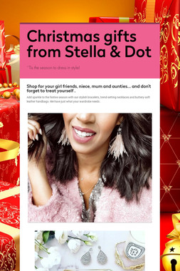 Christmas gifts from Stella & Dot