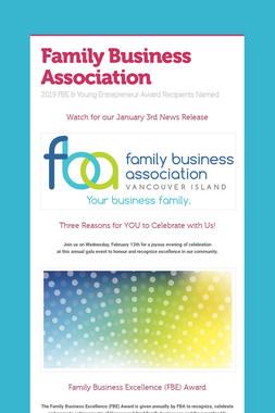 Family Business Association
