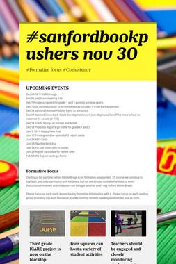 #sanfordbookpushers nov 30