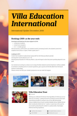 Villa Education International