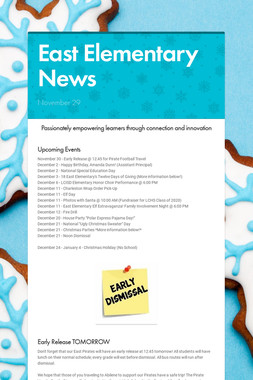East Elementary News