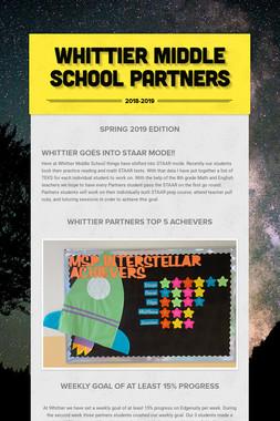 Whittier Middle School Partners