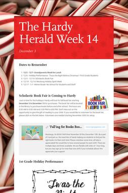 The Hardy Herald Week 14