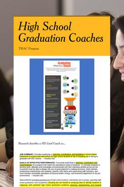 High School Graduation Coaches