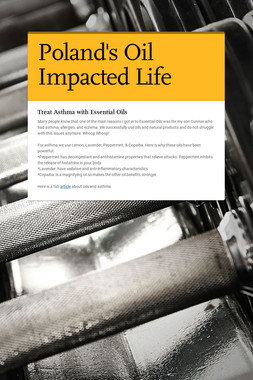 Poland's Oil Impacted Life