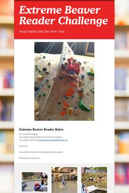 Extreme Beaver Reader Challenge