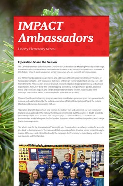 IMPACT Ambassadors