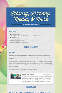 Library, Literacy, Media, & More