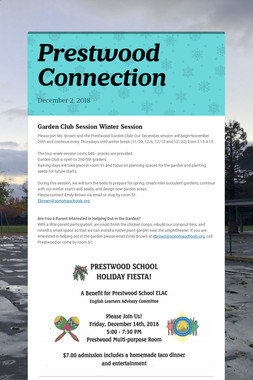 Prestwood Connection