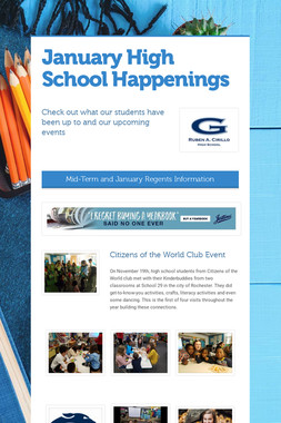 January High School Happenings