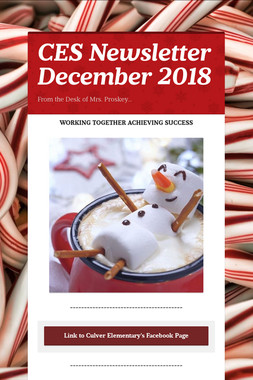 CES Newsletter December 2018