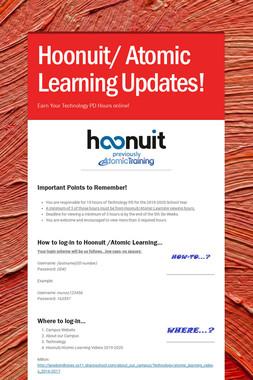 Hoonuit/ Atomic Learning
