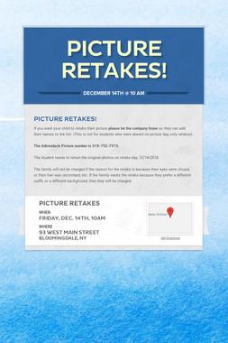 Picture Retakes!