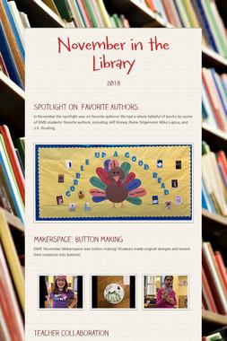 November in the Library