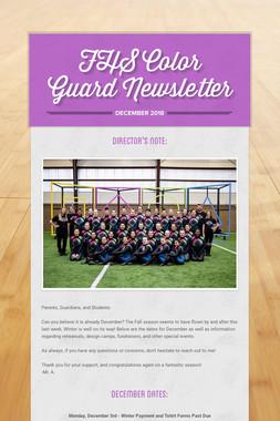 FHS Color Guard Newsletter