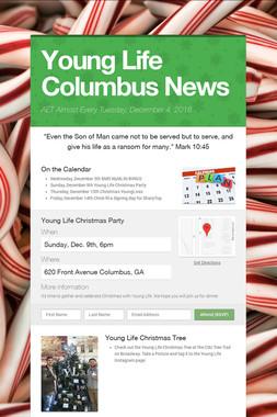 Young Life Columbus News