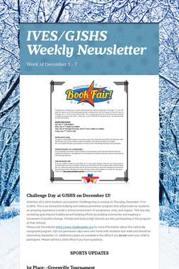 IVES/GJSHS Weekly Newsletter
